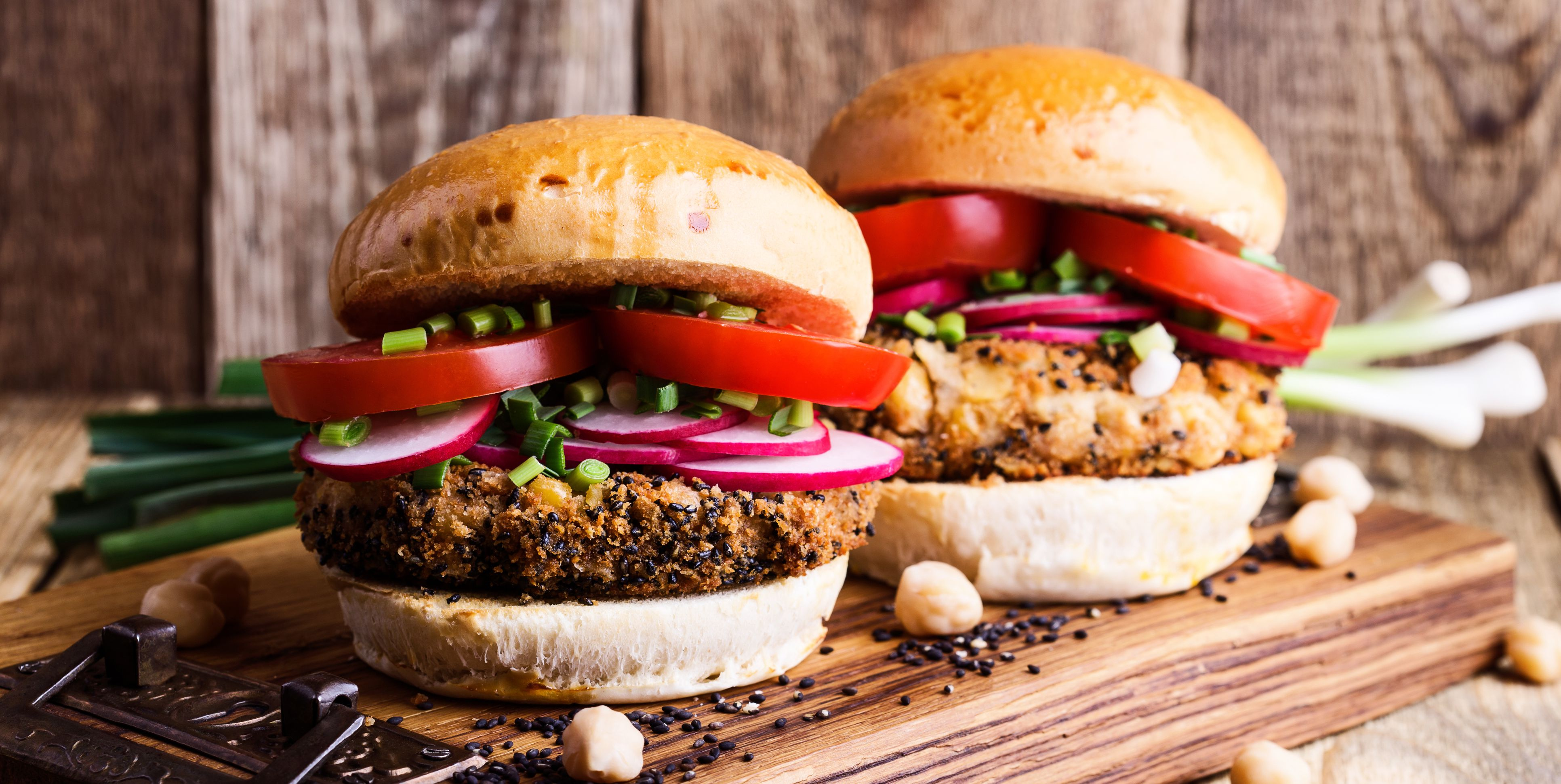 You'll Love These Veggie Burgers Even If You're Not A Vegetarian