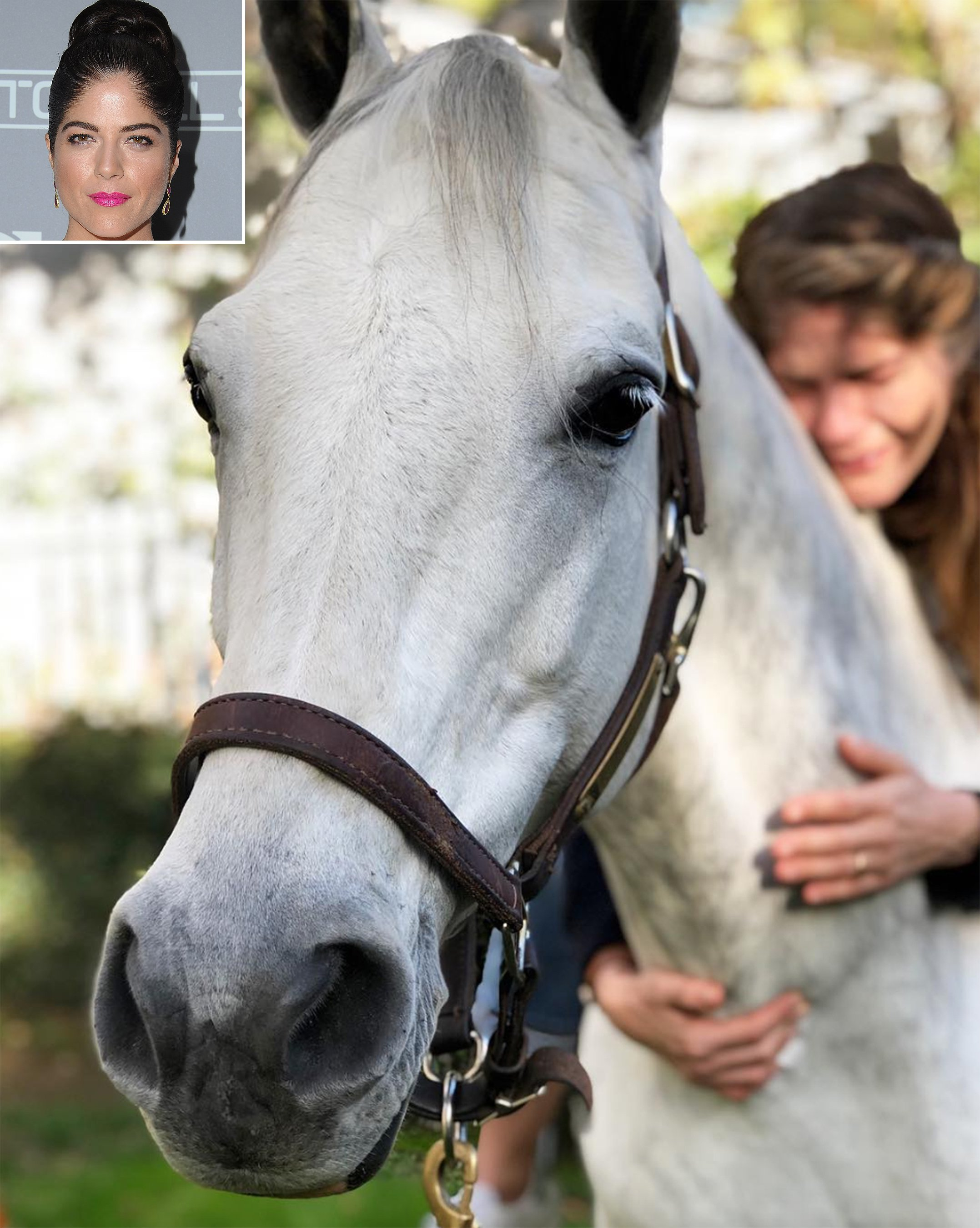 Selma Blair Bursts Into Tears as She Sees Her Horse Again After Not Being Able to Ride Due to Her MS
