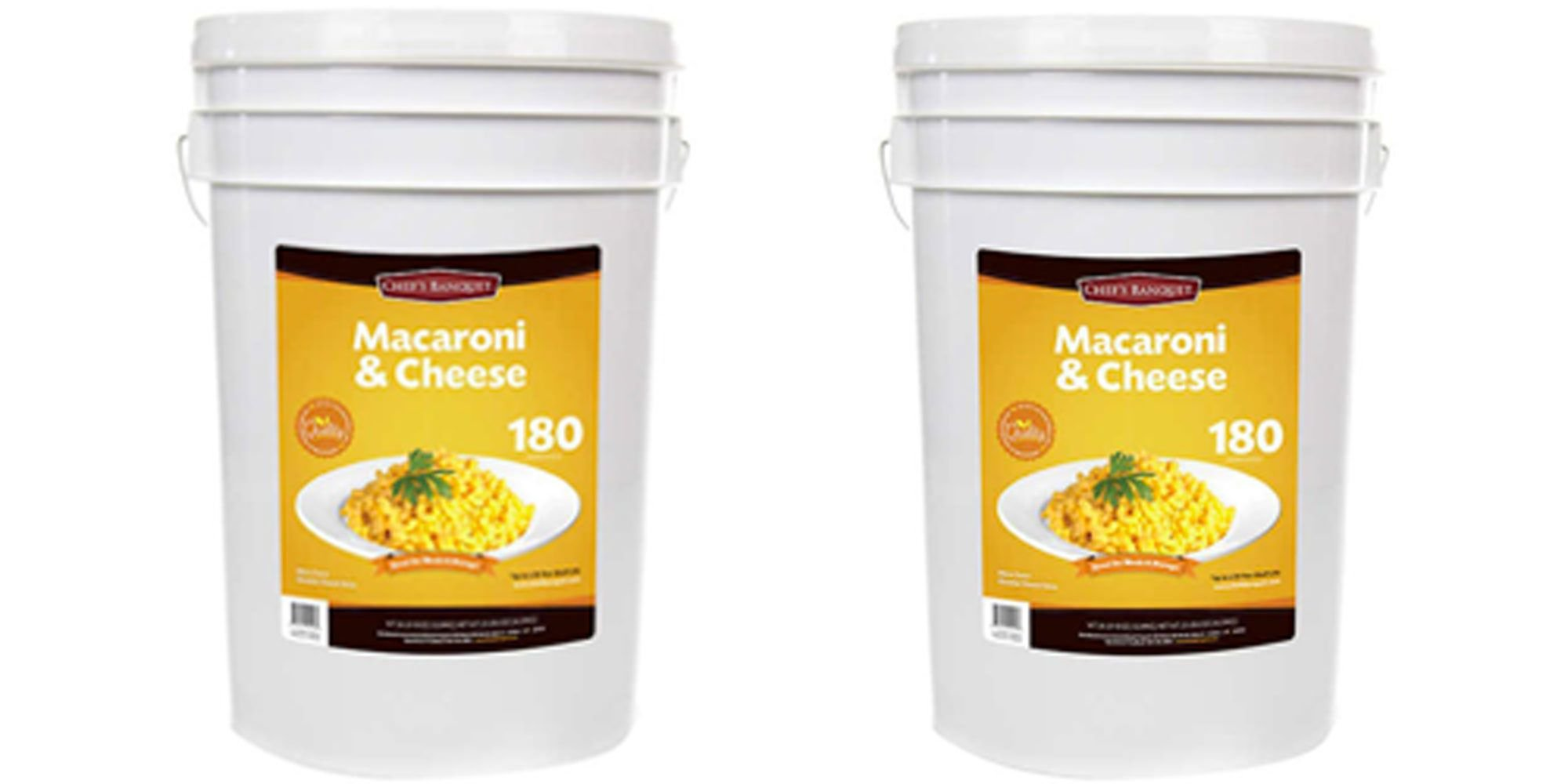 Costco Is Selling a 27-Pound Tub of Mac and Cheese Because Dreams Really Do Come True