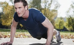Men who can do over 40 push-ups have a 96% lower riskof heart disease