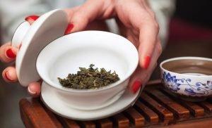 Oolong tea against breast cancer