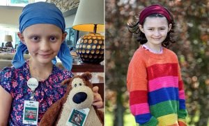 Girl, nine, survives her cancer doctors dismissed as an ear infection