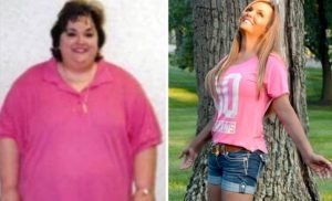 Mum who became addicted to fast food to cope with childhood abuse sheds 17 stone