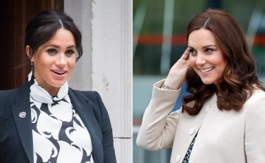 Here's How Duchess Meghan's Pregnancy Has Differed From Duchess Kate's