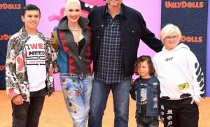 Blake Shelton Earns 'Cool Points' with Gwen Stefani's Kids as They Join Him at UglyDolls Premiere