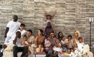 Gang's (Almost!) All Here! The Kardashians and Jenners Pose for a Sweet Family Photo on Easter