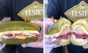 This Restaurant Replaces Bread With Pickles for the Sandwich of Your Dreams