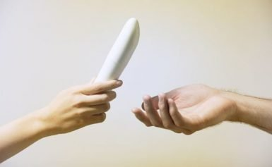 Woman horrified when her ex-boyfriend asks for her sex toys back
