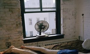 Sleeping with a fan on when it's hot may actually be bad for you