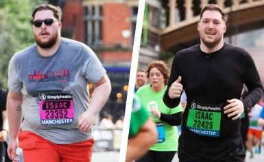 This Guy Combined Running With Simple Diet Changes to Lose 100 Pounds