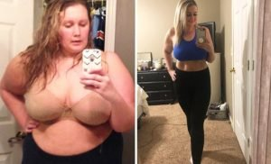 Woman, 33, with 'body of 70-year-old' sheds 10st on this diet plan