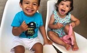 Cristiano Ronaldo Shares Smiley Photo of His Adorable Twins for Their Second Birthday