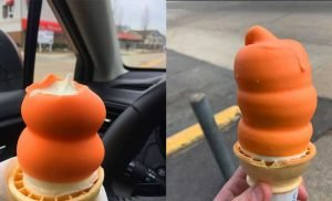 Dairy Queen Is Giving out FREE Dreamsicle-Dipped Ice Cream Cones Today