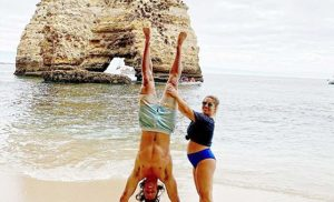 Pregnant Shawn Johnson East and Husband Enjoy Portugal Babymoon Ahead of First Child's Arrival