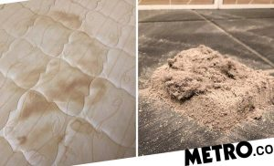 Woman shocked by all the dirt and dead skin cells lurking in her mattress