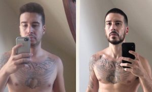 Vinny Guadagnino Shares Ultimate Shirtless Before and After Keto Diet Pic