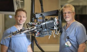 Hand-held robot points to less invasive prostate surgery