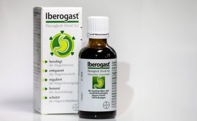 To patients taking Iberogast for?