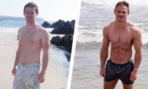 Two Simple Diet Changes Helped This Guy Get Jacked and Reveal His Six-Pack