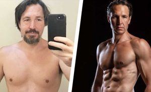 How This Guy Built Muscle and Got Shredded in His 40s on a Plant-Based Diet