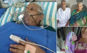 Indian woman, 74, gives birth to twin girls through IVF