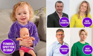 Strangers diagnoses exposed these people's life threatening conditions