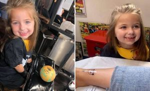 Cancer sufferer who wants to be a tattoo artist lives out her dream