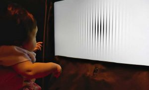 Motion perception of large objects gets worse during infant development