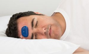 Battery-powered buzzer could be the trick to stopping your partner's snoring