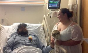 Groom rushed into brain surgery on would-be wedding day