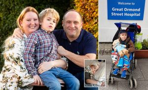 Boy with 'dementia' recognises parents again after clinical trial