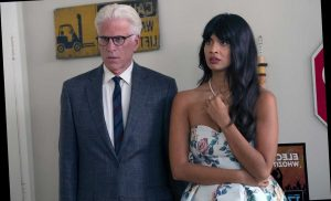 The Good Place's Jameela Jamil Details How She 'Almost Died' While Running at Costar Ted Danson's Suggestion
