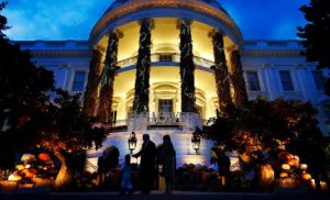 "A White House Halloween Party Activity Invited Kids to ""Build the Wall"""