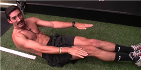 The 'Baby Shark' Workout Shredded This Guy's Abs