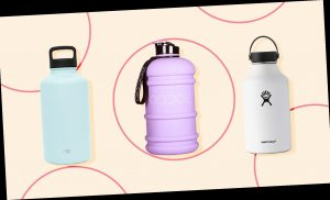 Hydrate Chicly With These Jumbo Water Bottles