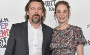 Ethan Hawke Has a Sweet Jam Session with Daughter Maya Hawke While Social Distancing with Family