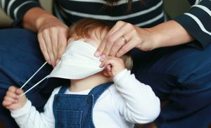 Should You Put Tiny Face Masks on Your Babies?