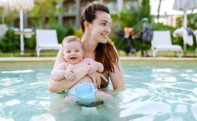 Cute & Reusable Swim Diapers for Hassle-Free Pool Days