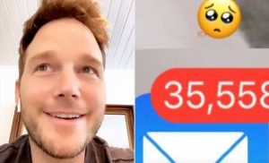 Chris Pratt Says His 35K Unread Emails Made Son Jack 'Gasp' – So He (Accidentally!) Deleted Them