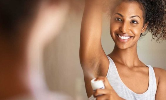 Aluminum in the deodorant is less harmful than thought