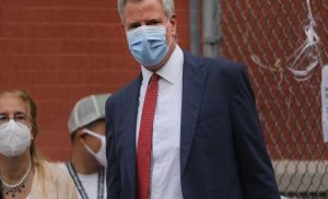 N.Y.C. Mayor Calls for Non-Essential Businesses and Schools in Coronavirus Hotspots to Close