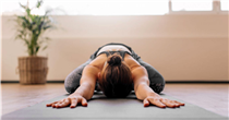 Try these simple yoga stretches to ease your mind and body