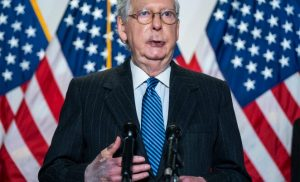 Mitch McConnell's bruised hands, lips likely common skin condition, dermatologists say