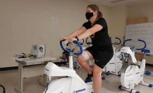 Researchers find face masks don't hinder breathing during exercise