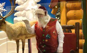 Ho, ho—Whoa! Virus keeping most Santas at a distance