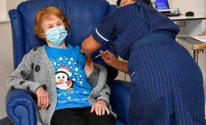 Britain starts virus vaccinations as California locks down
