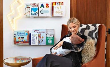 Inside Ashlee Simpson Ross and Evan Ross' 'Bohemian' Meets 'Rock 'n' Roll' Nursery for Son Ziggy
