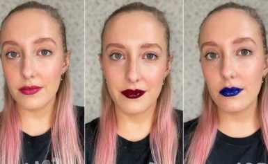 This New Lipstick Is Somehow Glossy and Long-Lasting