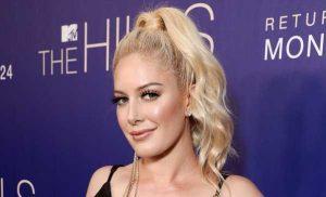 Heidi Montag Denies Pregnancy Speculation: 'Just a Little Overweight'