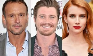Garrett Hedlund on Tim McGraw Being Godfather to His and Emma Roberts' Son Rhodes: 'He's the Best'